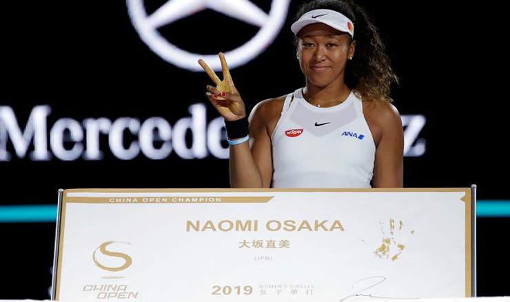 Naomi Osaka (REUTERS/Jason Lee)