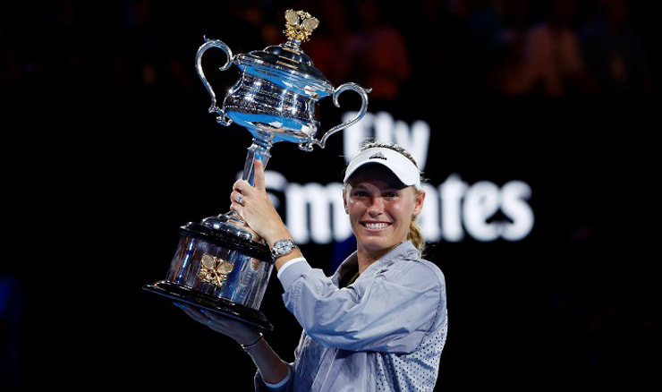 Caroline Wozniacki (REUTERS/Edgar Su/File Photo)