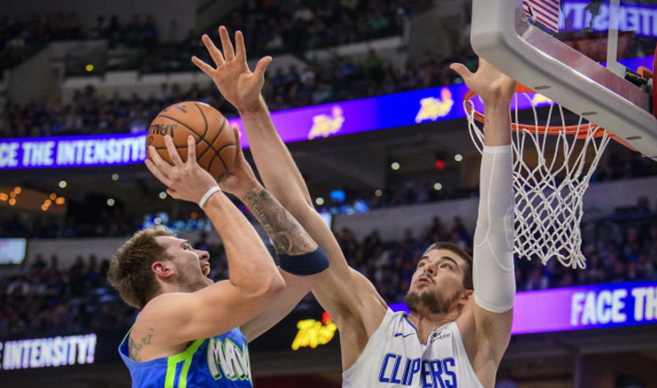 Dallas Mavericks - LA Clippers (Jerome Miron-USA TODAY Sports)
