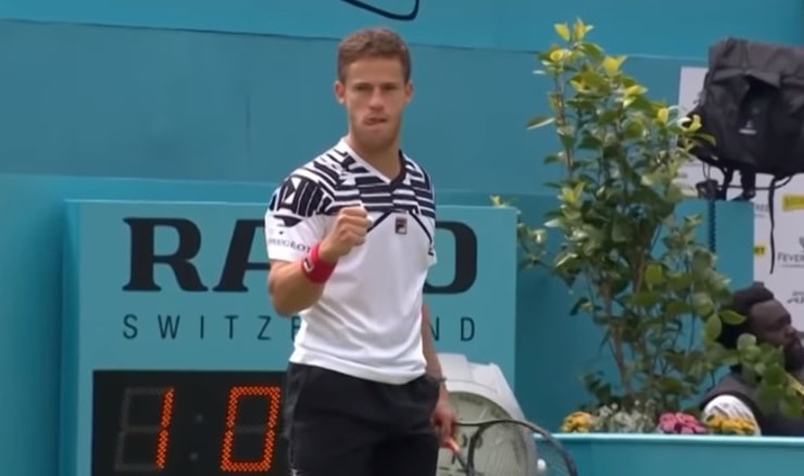 Diego Schwartzman (Screenshot: YouTube)