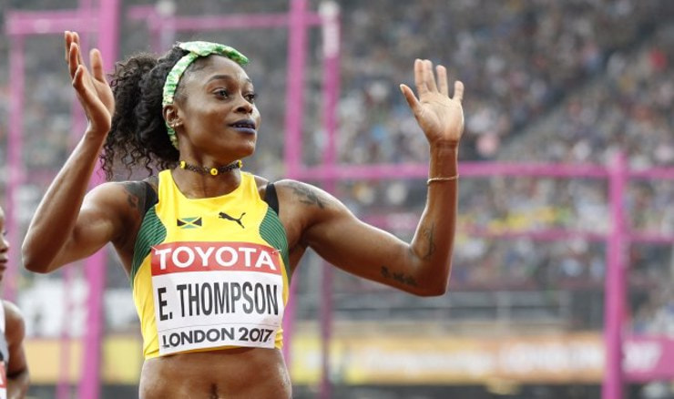 Elaine Thompson (Foto: Martin Rickett/Press Association/PIXSELL)
