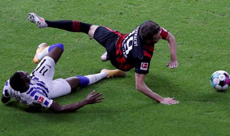 Hertha - Eintracht (Foto: Michael Sohn/Pool via REUTERS)