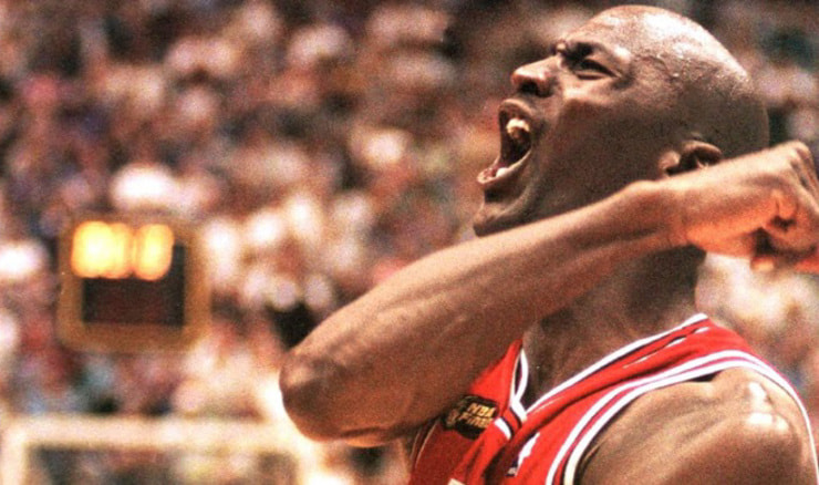 Michael Jordan (Screenshot: The Last Dance)