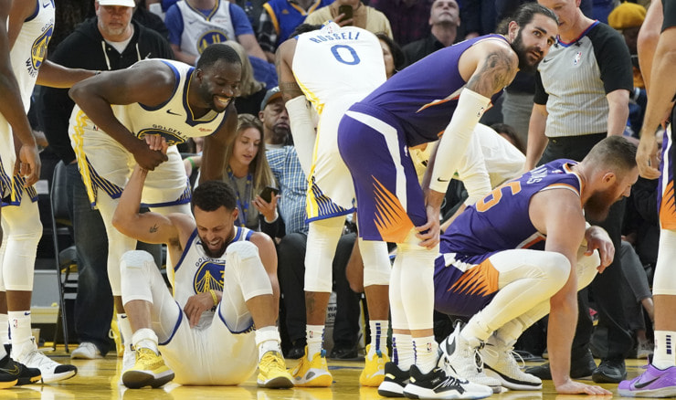 Golden State Warriors - Phoenix Suns (Kyle Terada-USA TODAY Sports)