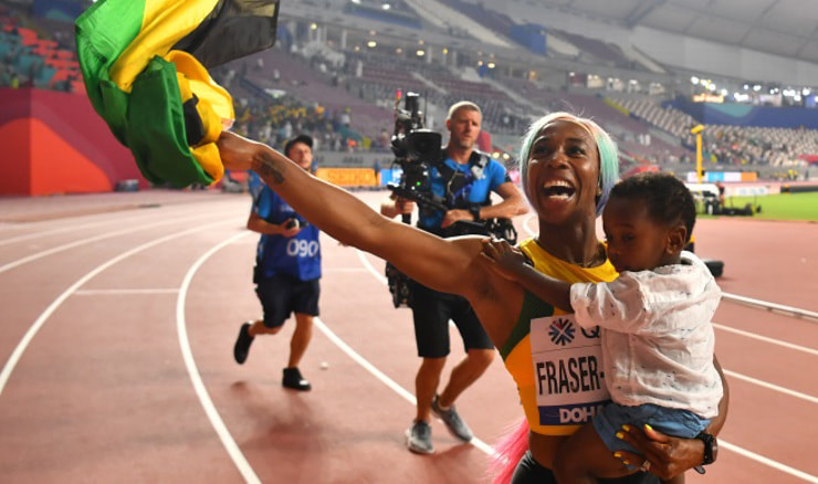 Shelly-Ann Fraser-Pryce (REUTERS/Dylan Martinez)