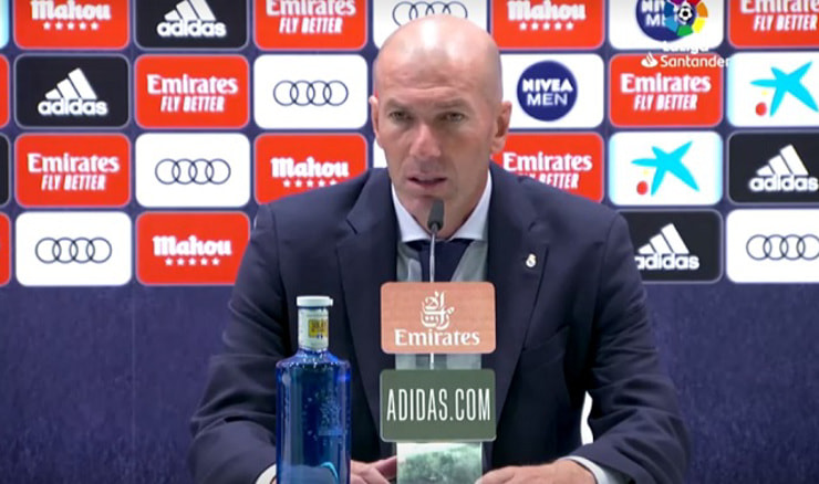 Zinedine Zidane (Screenshot HRT)