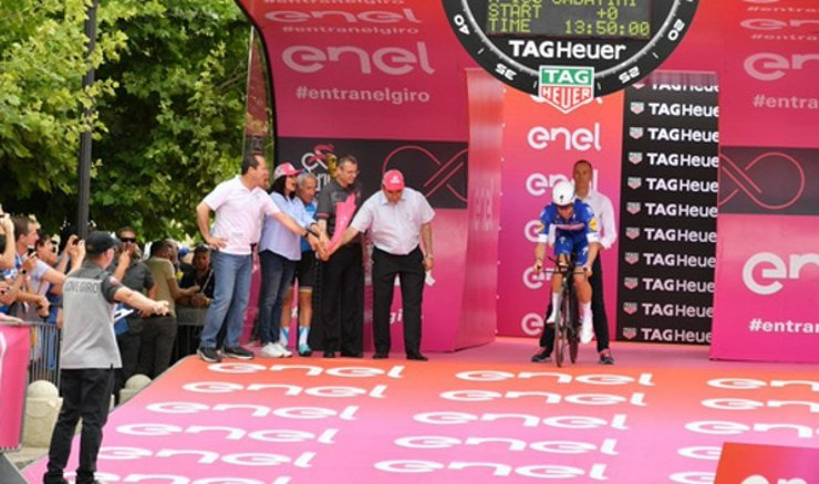 Screenshot: Twitter @giroditalia