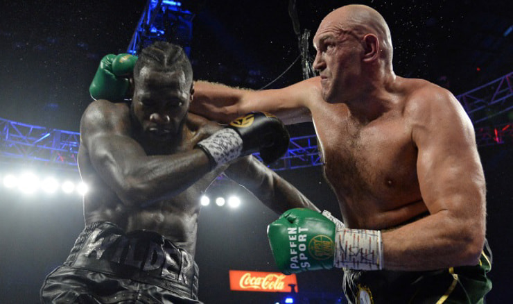 Fury i Wilder (Foto: Joe Camporeale-USA TODAY Sports/File Photo)
