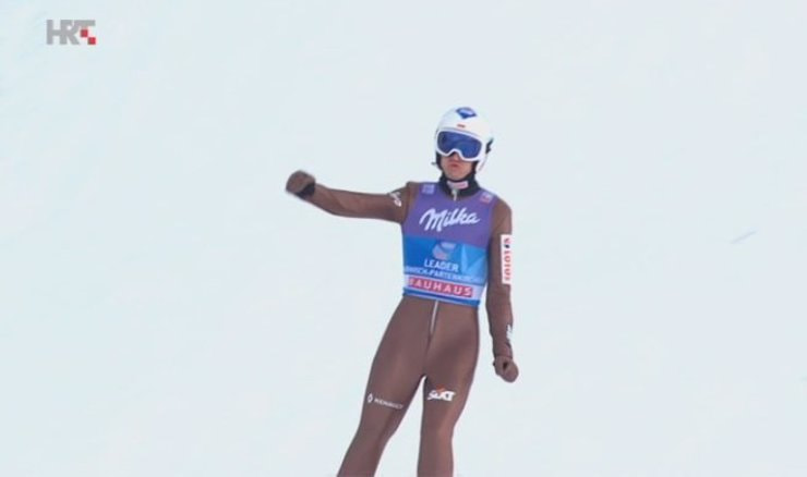 Kamil Stoch (Screenshot: HRT)