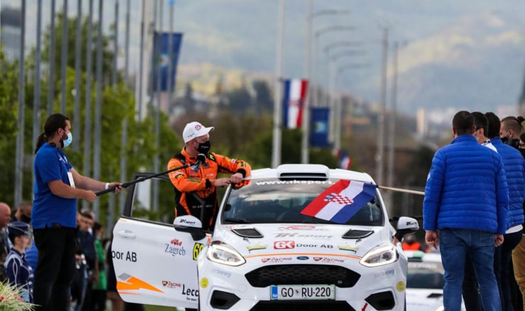 Ceremonijalni start WRC Croatia Rally 2021.