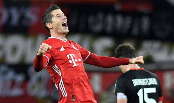 Robert Lewandowski (Foto:  Pool via REUTERS/Bernd Thissen)