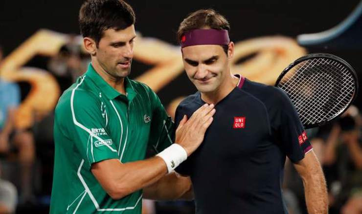 Novak Đoković i Roger Federer (Foto: REUTERS/Issei Kato/File Photo)