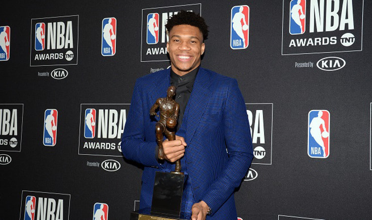 Giannis Antetokounmpo (Gary A. Vasquez-USA TODAY Sports/REUTERS)