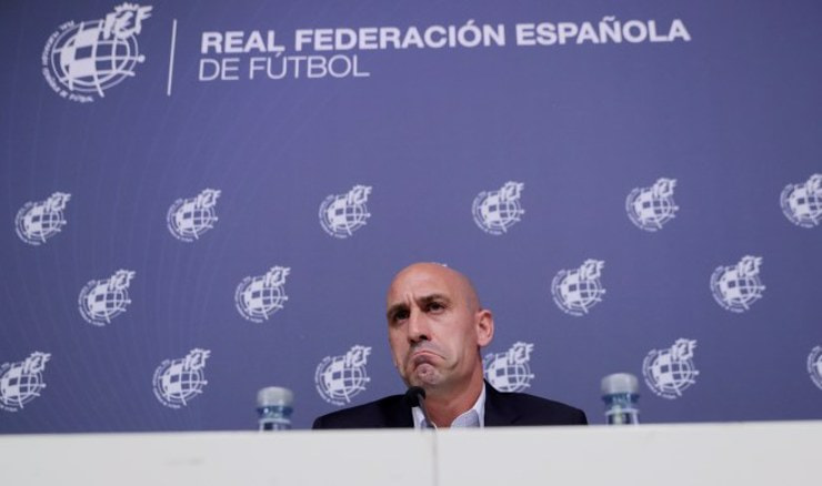 Luis Rubiales (Foto: REUTERS/Sergio Perez/File Photo)